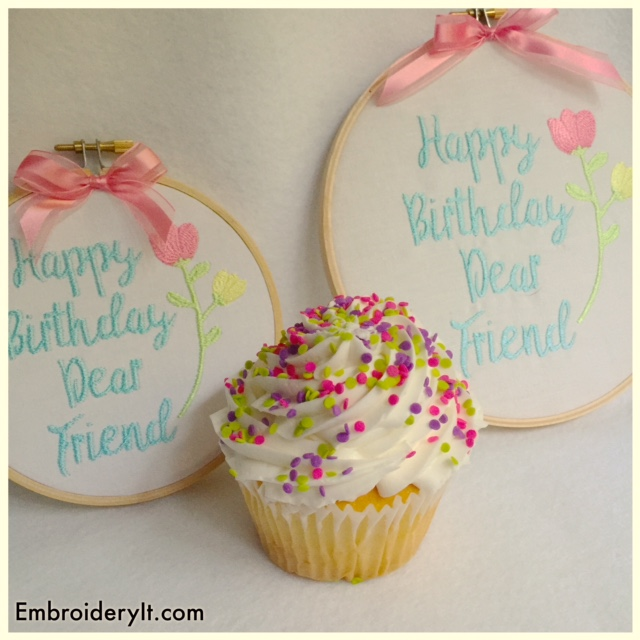 Embroidery It Birthday Party Day 1