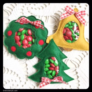 Embroidery It Christmas Candy Holder 4