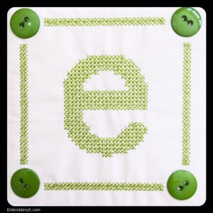 Embroidery It Cross Stitch Alphabet e1