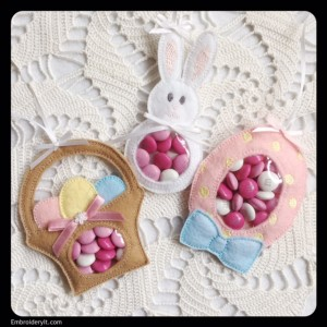 Embroidery It Easter Candy Holder 10