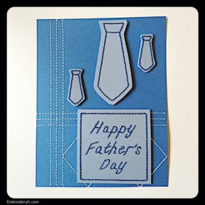 Embroidery It Father's Day Card 2