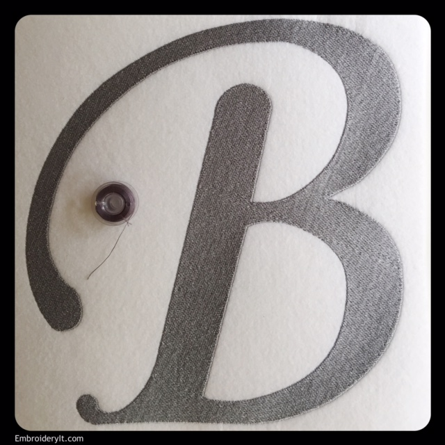 Oversized Monogram Letter B at a Special Price This Week ...