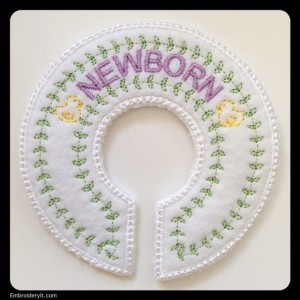 Embroidery It Closet Organizer Newborn