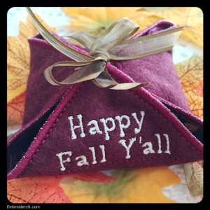 Embroidery It Fall Gift Box 7