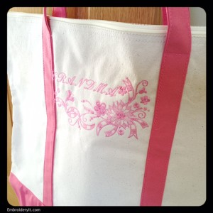 Embroidery It Tote Bag 1