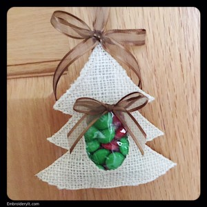 Embroidery It Christmas Candy Holder 8