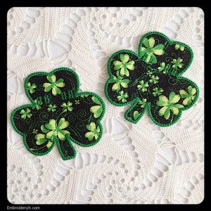 Embroidery It Banner Shamrock 1