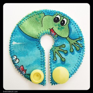 Embroidery It Feeding Tube Pad