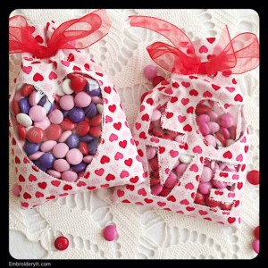 Embroidery It Valentine Treat Bag 20