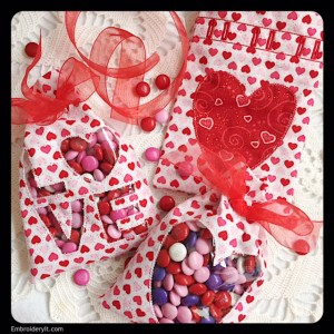Embroidery It Valentine Treat Bag 4