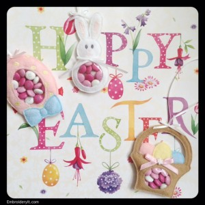 Embroidery It Easter Candy Holder 5