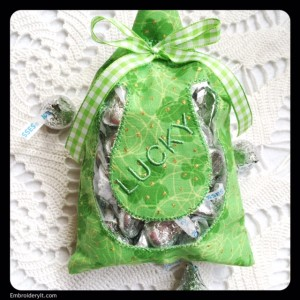 Embroidery It St. Patrick's Day Treat Bag 5