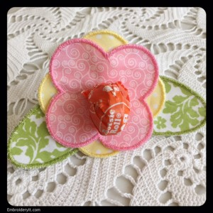 Embroidery it Lollipop Flower 2