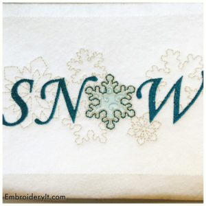 Embroidery It Christmas in July 2a