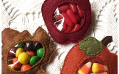 Machine Embroidery Candy Holders