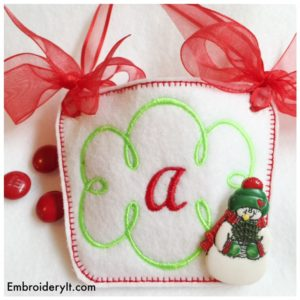 Embroidery It Monogram Basket 1