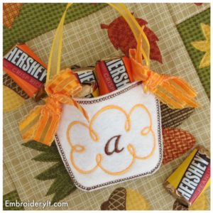 Embroidery It Monogram Basket 8