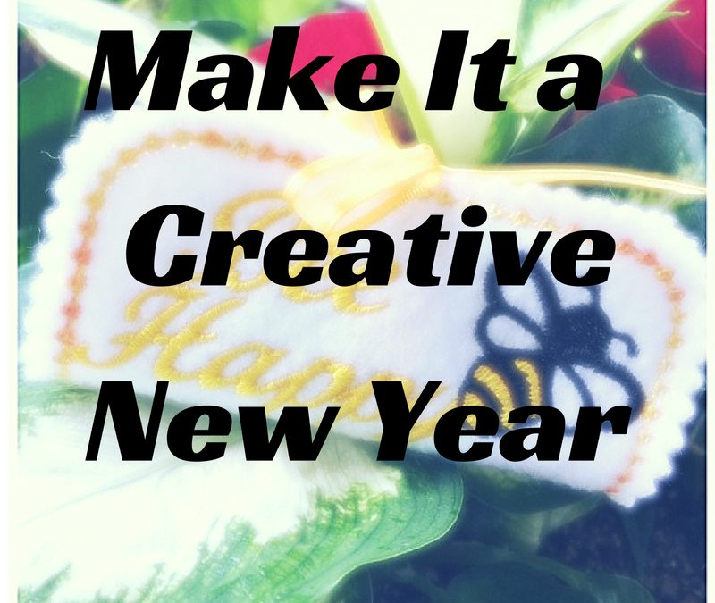 Day 2 of Make it a Creative New Year