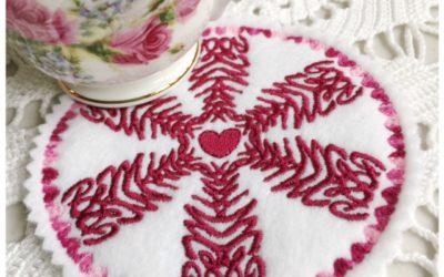 Free Valentine's Day Machine Embroidery Design