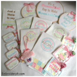 Embroidery It Big Birthday Bundle