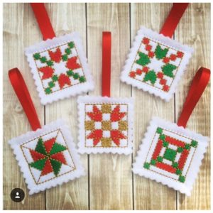 Candy Holder Quilt Nugget Squares