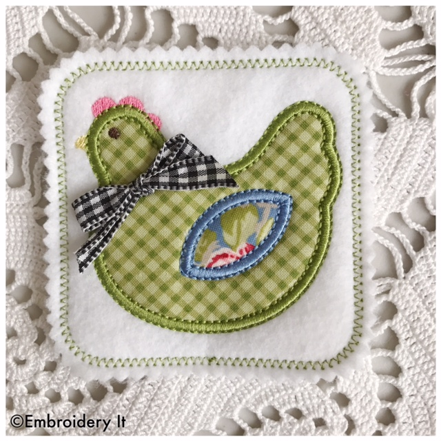 Sew Sweet Chicken Sew Along – Embroider Along is Tomorrow!!