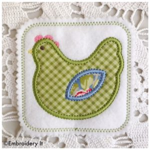 Applique Sew Along Machine Embroidery Design