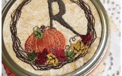 Pumpkin Mason Jar Alphabet