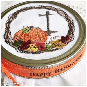 Gifts in a jar embroidery ideas