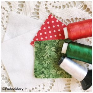 Embroidery It sew along supplies